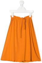 Longlivethequeen drawstring midi skirt