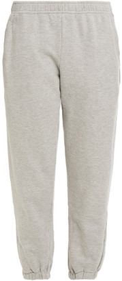 Clu Melange French Cotton-blend Terry Track Pants
