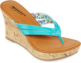 Arizona Holly Wedge Sandals
