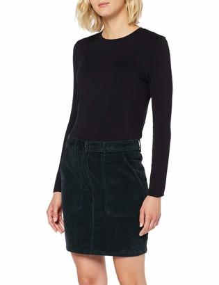 Dorothy Perkins Women's Grn Cord Skirt
