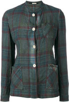Massimo Alba plaid shacket - women - Cotton - S