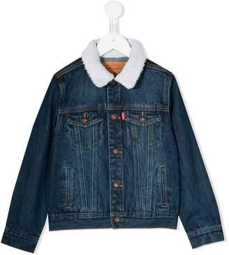 Levi's Kids logo denim jacket
