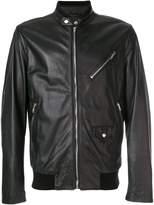 Moschino biker style jacket