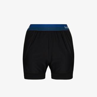 LNDR Dooble contrast waistband shorts