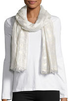 Cejon Metallic Wrap Scarf