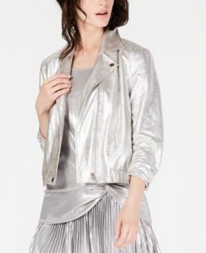INC International Concepts Inc Metallic Jacket, Created for Macy's