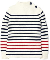 Boy's Mini Boden Stripe Sweater