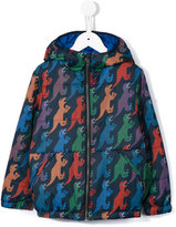 Paul Smith dinosaur print coat