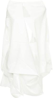 132 5. ISSEY MIYAKE Asymmetric Origami Dress