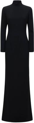 Mônot Backless Silk Long Dress