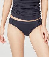 LOFT Beach Shirred Bikini Bottom