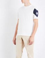 Moncler Gamme Bleu Logo-detail cotton T-shirt