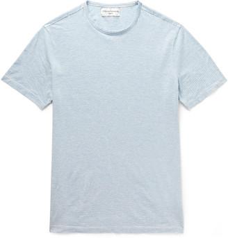 Officine Generale Striped Cotton-Jersey T-Shirt