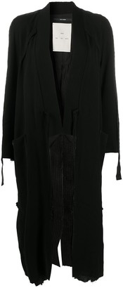 Song For The Mute Oversized Fit Coat