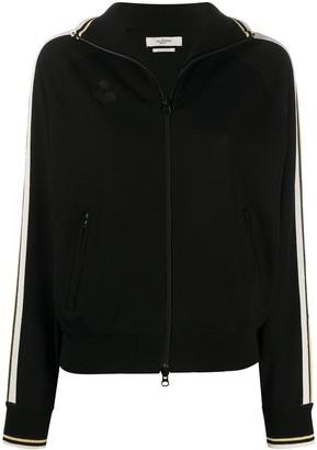 Etoile Isabel Marant side stripes knitted jacket