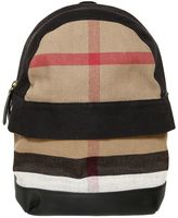 Burberry Check Canvas Backpack