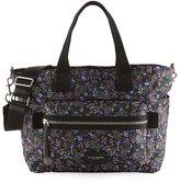 Marc Jacobs Biker Garden Paisley Baby Bag, Purple