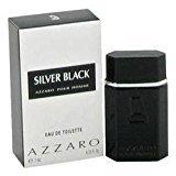 Azzaro SILVER BLACK by Loris EDT MINI .23 oz for Men