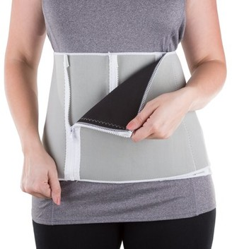 Bluestone Waist Trainer Body Shaper by Bluestone, Belly Band Girdle for Weight Loss and Back Support