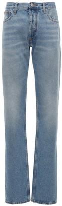 ATTICO Boyfriend Washed Cotton Denim Jeans