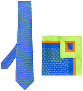 Etro turtle print tie and pocket square