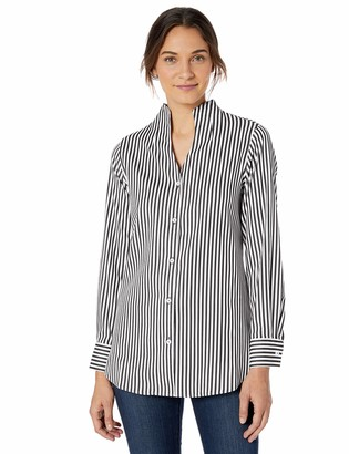 Foxcroft Women's Cena Non Iron Stripe Tunic