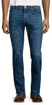 7 For All Mankind Luxe Performance: Straight-Leg Shoreline Jeans, Indigo