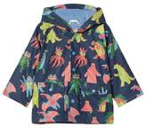 Hatley Navy Mega Monsters Raincoat
