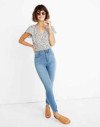 "Madewell Tall 10"" High-Rise Roadtripper Jeggings in Jancey Wash"