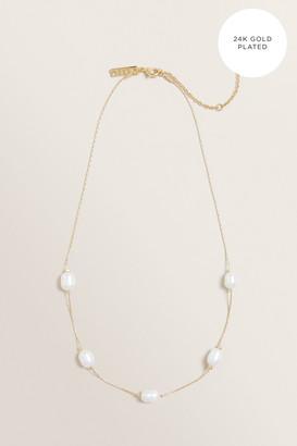 Seed Heritage Fine Multi Pearl Necklace