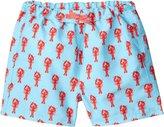 Rachel Riley Lobster Swim Trunks (Toddler/Kid) - Aqua-4 Years