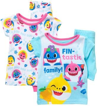 AME Baby Shark Cotton Pajamas - Set of 2