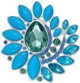 Napier Blue Spiral Pin