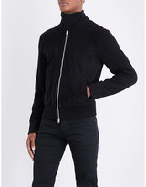 Tom Ford Suede-front Wool Jacket
