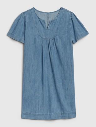Gap Kids T-Shirt Denim Dress