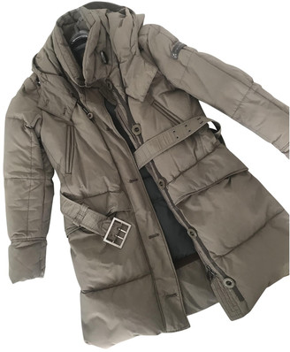 Peuterey Green Synthetic Coats