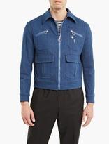 Neil Barrett Blue Denim Bomber Jacket