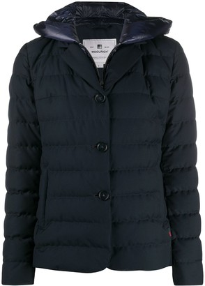 Woolrich Fitted Padded Puffer Jacket