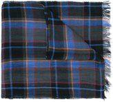 Paul Smith checked scarf - men - Linen/Flax - One Size