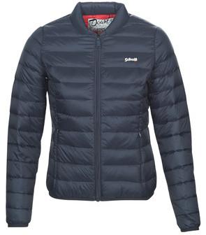 Schott JKTOAKLANDW women's Jacket in Blue