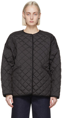 Totême Black Quilted Jacket