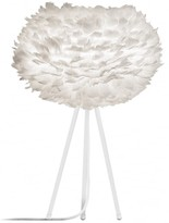 EOS Umage UMAGE - Medium White Feather White Tripod Table Lamp - White