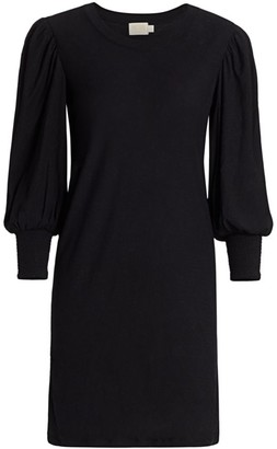 Nation Ltd. Loren Puff-Sleeve Shift Dress