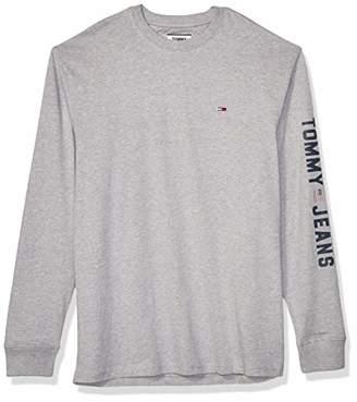 Tommy Hilfiger Men's Long Sleeve T Shirt Flag Logo Tee