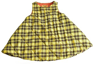 Mimii Lydia Bennet Yellow Tartan Dress