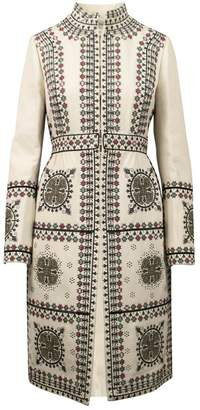 Valentino \N White Wool Coats