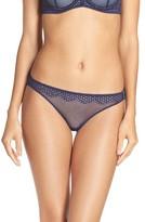 OnGossamer Women's Geo Mesh Bikini