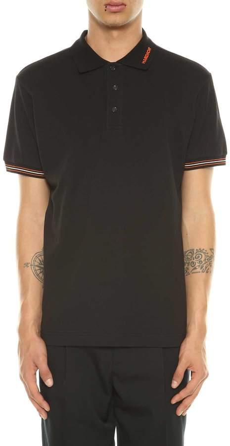 Christian Dior Polo Shirt With Hardior Embroidery
