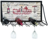 Lark Manor Mickael Vineyard 6 Bottle Wall Mounted Wine Rack