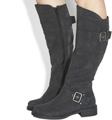 Office Easter Buckle Knee Boots